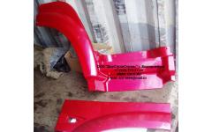 Крыло кабины со спальником красное правое H3