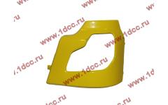 Бампер DF желтый самосвал боковой левый