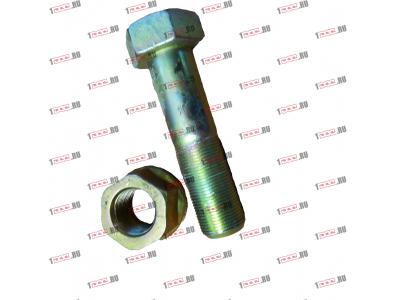 Болт крепления прямой реактивной тяги короткий H2/H3 HOWO (ХОВО) 190003803974 фото 1 Уфа