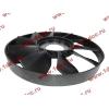 Вентилятор радиатора на гидромуфту d-590 H HOWO (ХОВО) VG1500060047 фото 3 Уфа