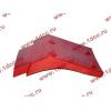 Брызговик передней оси правый H2 красный HOWO (ХОВО) WG1642230004 фото 3 Уфа